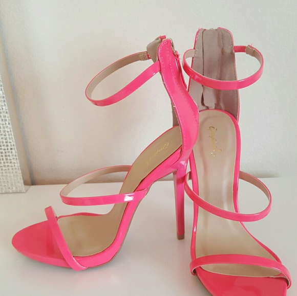 first rate sale coupon code Quipid Shoes | Neon Pink Heels | Poshmark